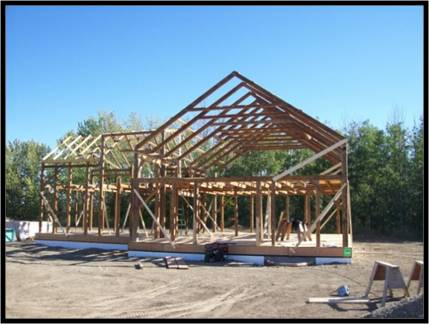 Reclaimed Timber Frames for Sale - TimberhArt Woodworks ...