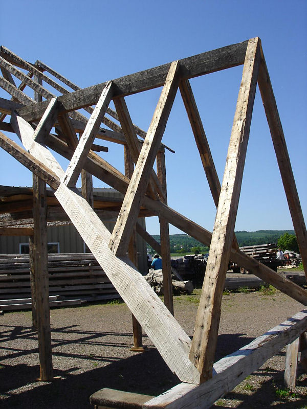 Reclaimed Heritage Timber Frame For Sale The Noel Cape